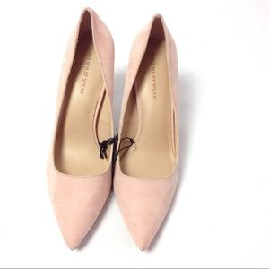 Who What Wear Women's Pumps Faux Suede Sz 8 Pink